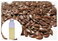 China Food Grade Ecocert Organic Flaxseed Oil , Flaxseed Oil Supplements Transparent Liquid factory