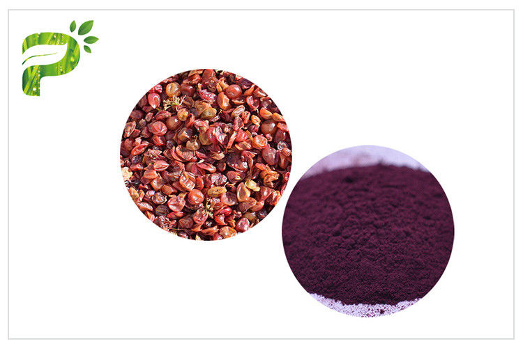 Anti Aging Natural Cosmetic Ingredients Grape Skin Peel Resveratrol 5 Extract Cas 501 36 0