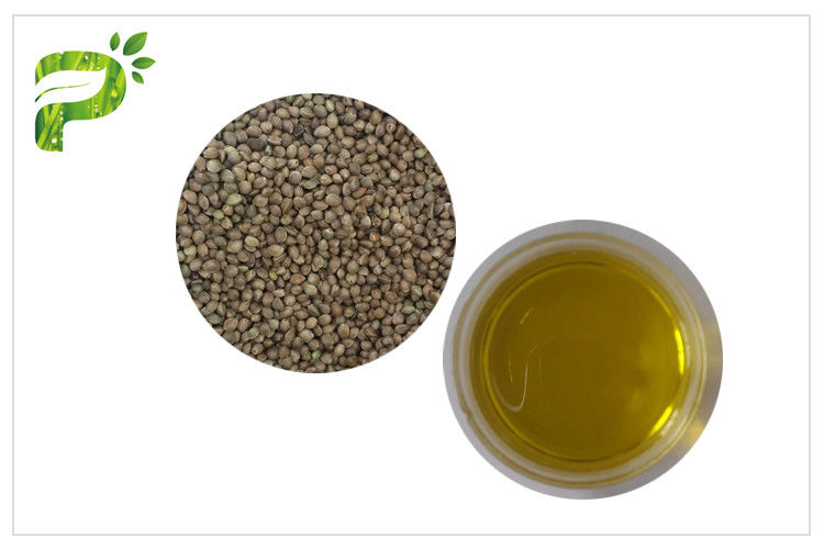Food Grade Hemp Seed Oil , Cold Pressing Organic Natural Plant Oils Fatty Acid