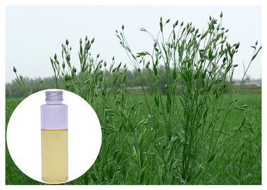China Omega 3 Natural Flaxseed Oil Refined Yellow Color Nourishing Skin GC Test distributor