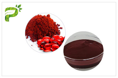 China CAS 472 61 7 Haematococcus Pluvialis Extract Anti Oxidation Astaxanthin Soluble In Cold Water distributor