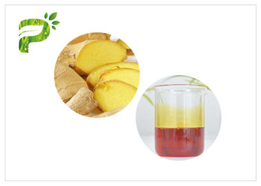 China Yellow Liquid Natural Essential Oils Ginger Oil CAS 8007 08 7 For Shampoo distributor
